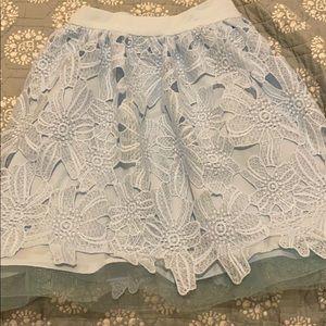Sunbeam Lace Skater Skirt